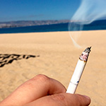 Ley Antitabaco: Fumadores vetados en playas