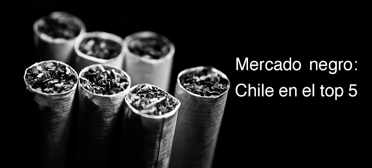Mercado negro: Chile en el top 5